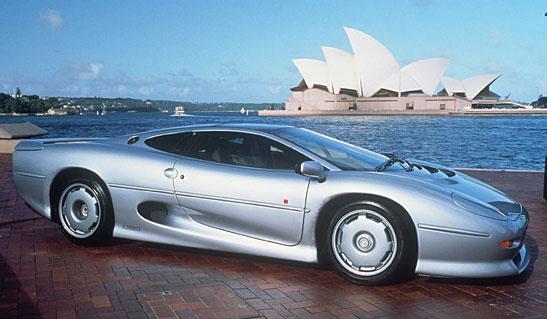 Jaguar XJ Coupe 220